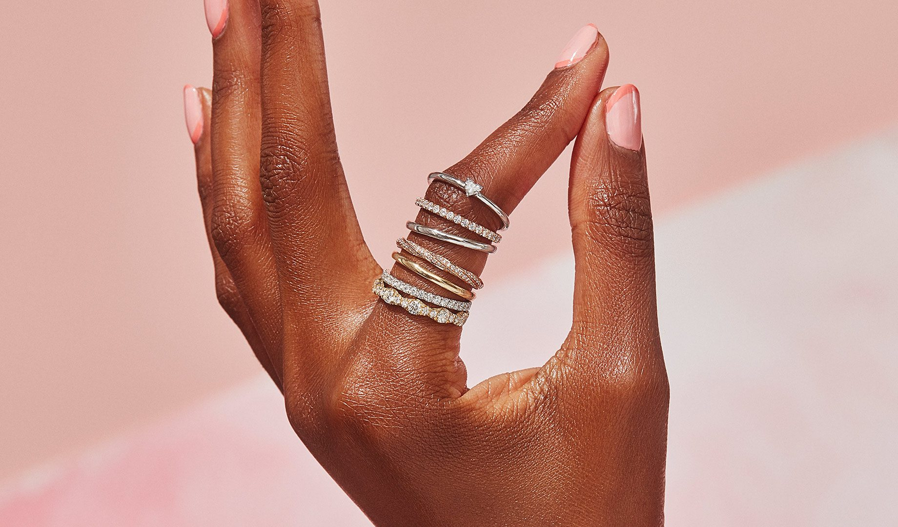 Women's Wedding Bands by Oui by Jean Dousset