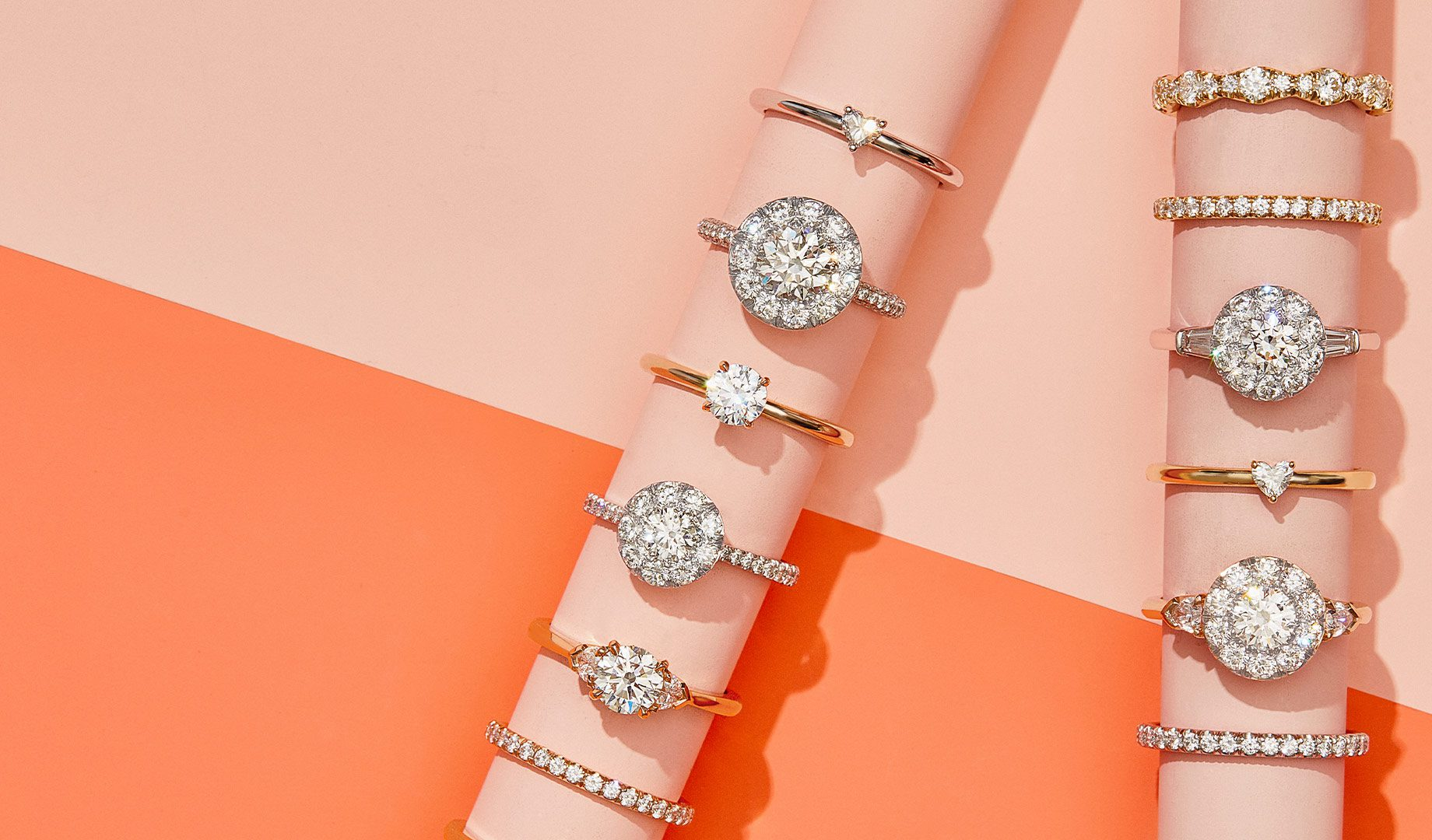 Engagement Rings by Oui by Jean Dousset