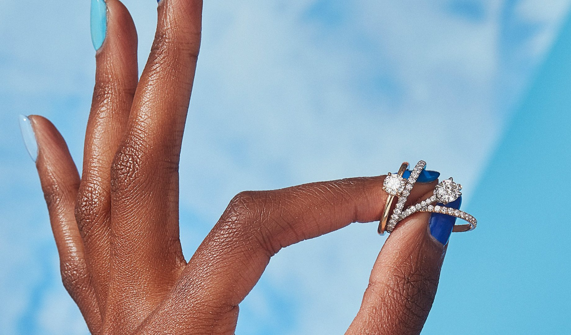 Solitaire Engagement Rings by Oui by Jean Dousset