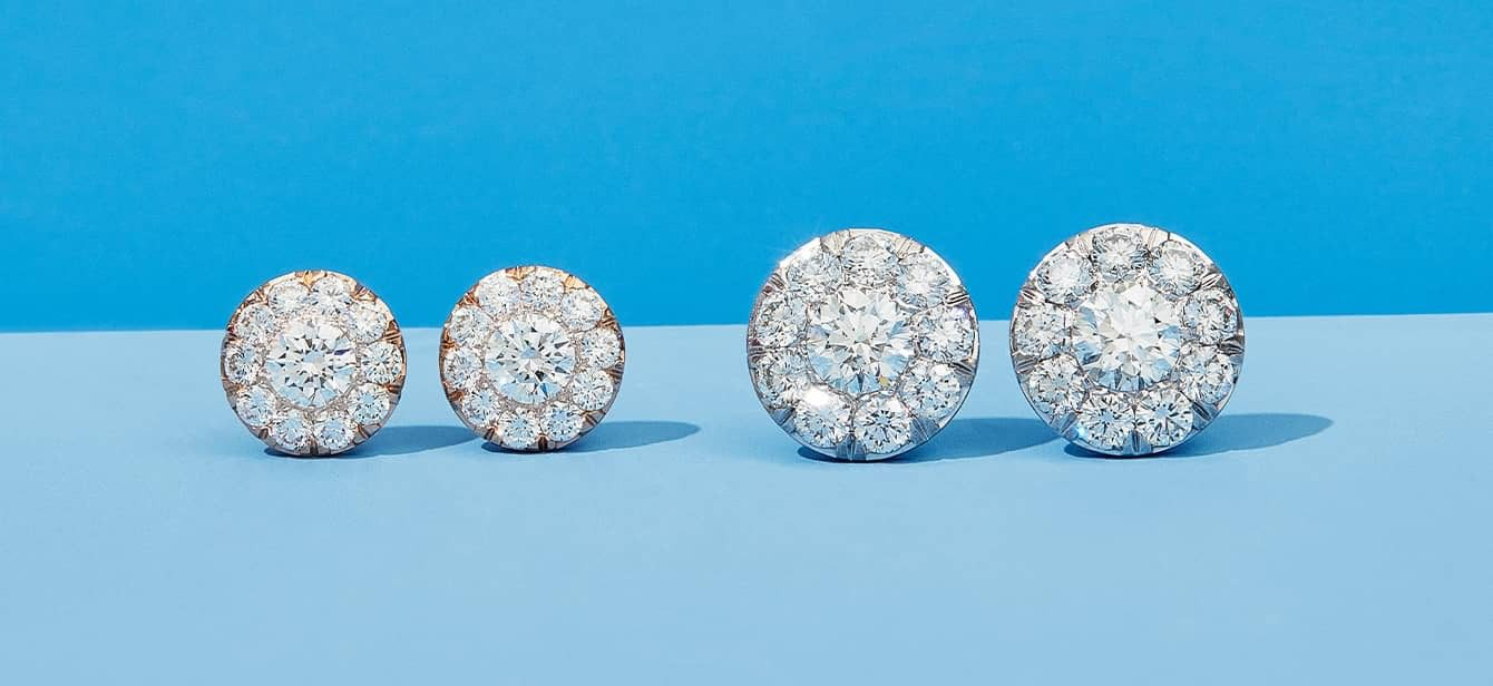 Diamond Earrings by Oui by Jean Dousset