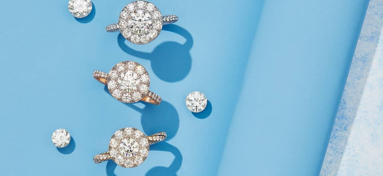 Seamless Solitaire® Engagement Rings by Oui by Jean Dousset